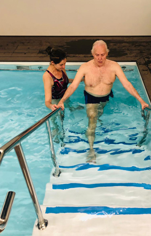 Hydrotherapy, pool excercise